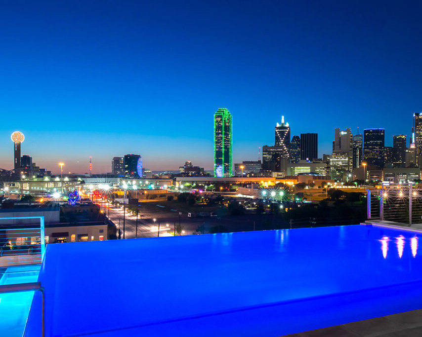 Dallas Nylo Marriage Proposal Location