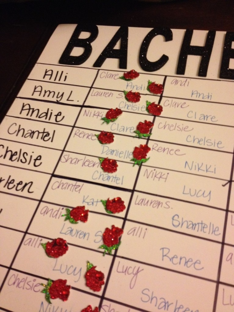 The Yes Girls Bachelor Draft
