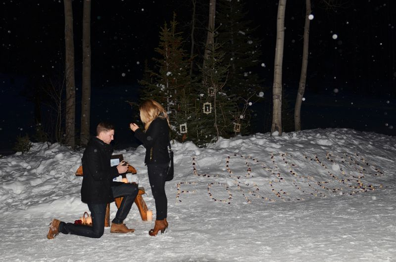 winter marriage proposal 1