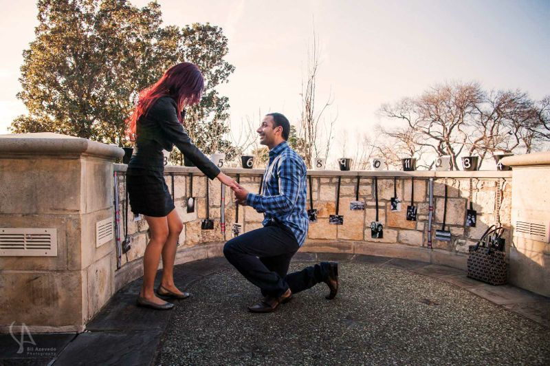 Dallas Valentine's Day Marriage Proposal