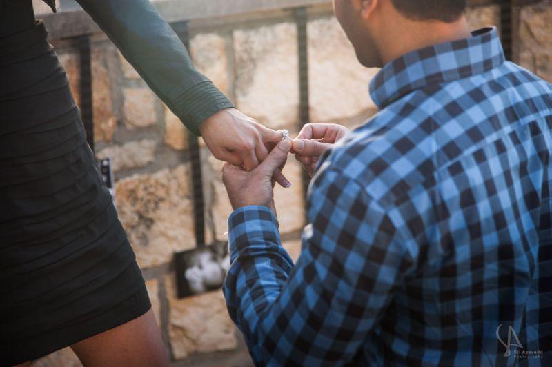 Dallas Valentine's Day Marriage Proposal
