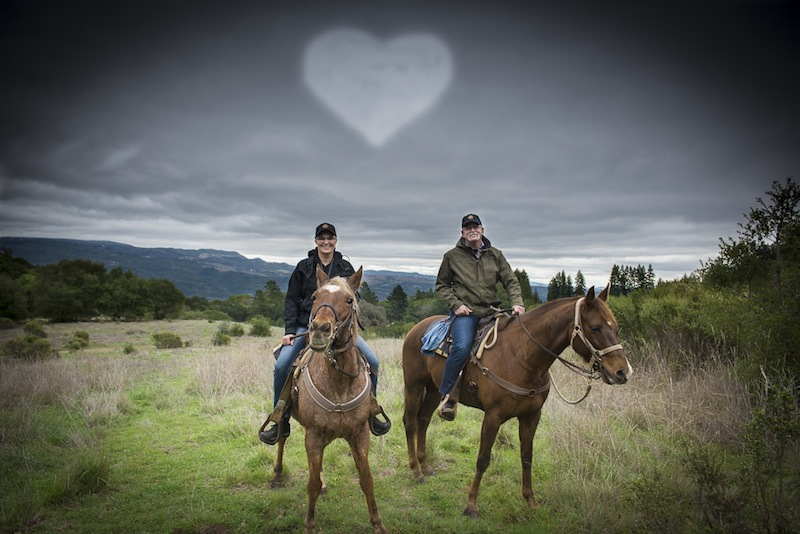 horseback riding sonoma by the yes girls