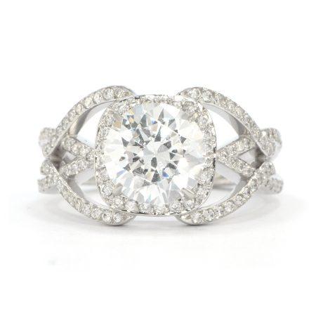 Wixon Jewelers Fancy Open Ring