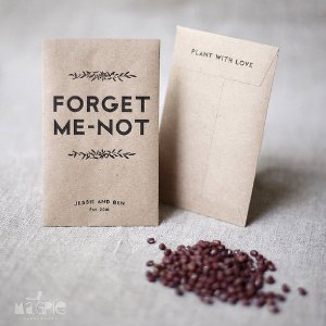 Image Credits Forget Me Not Seeds Wedding Favors From Amazon Personalized CD StyleMePretty Jones Soda