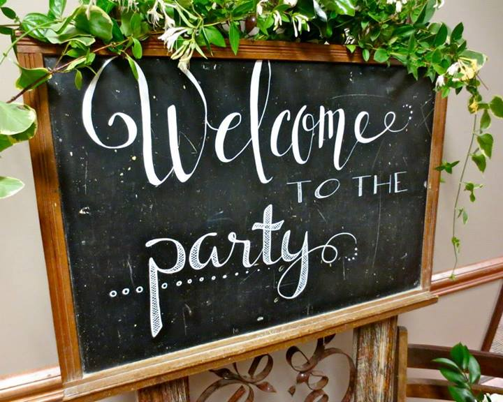 customized sign for wedding