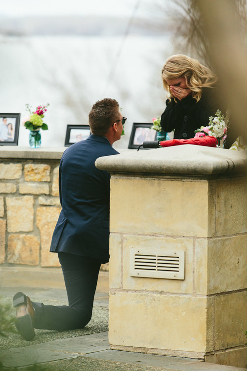 Dallas Texas Romantic Proposal