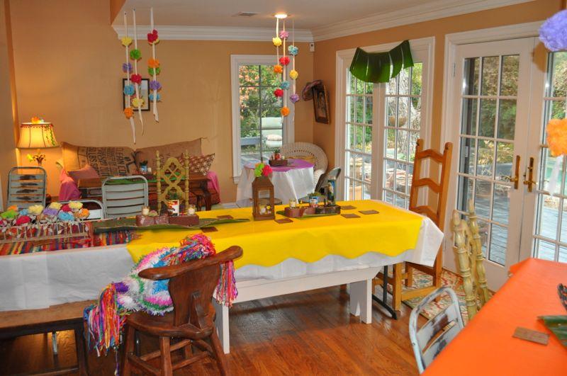 fiesta themed party decor