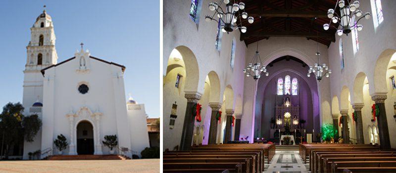 Saint Mary's College of CA wedding