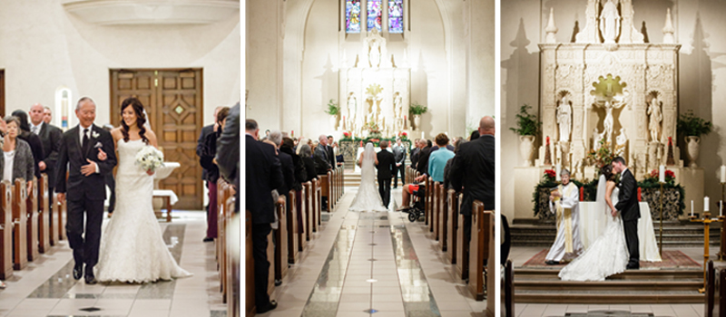 St Mary's College of CA wedding