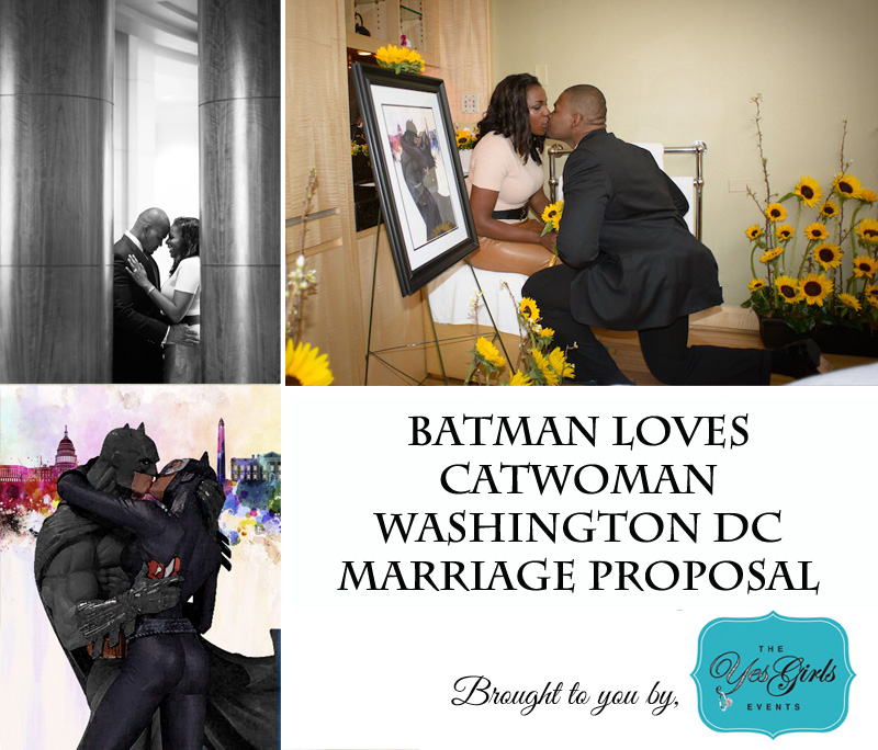 Washington DC Marriage Proposal by the yes girls