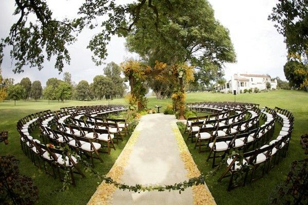 wedding ceremony guest chairs