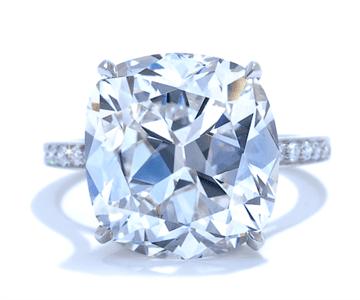 Ascot Cushion Engagment Ring