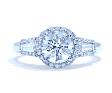Ascot Round Engagement Ring