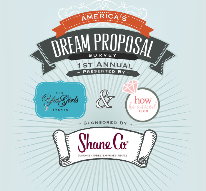 the yes girls, howheasked, shane co, proposal survey