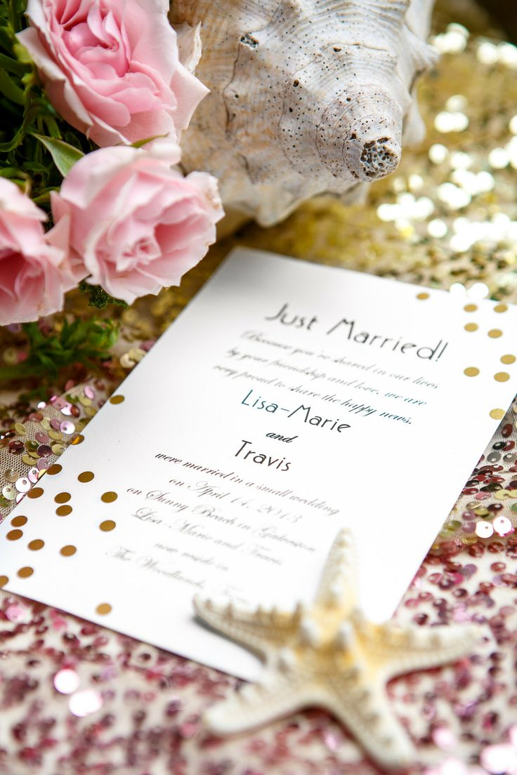 Gold and Pink Beach Wedding