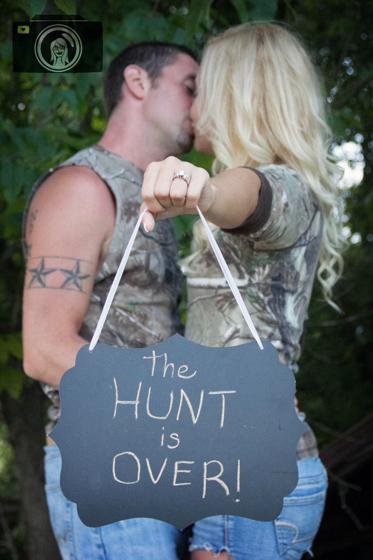 The Hunt is over sign
