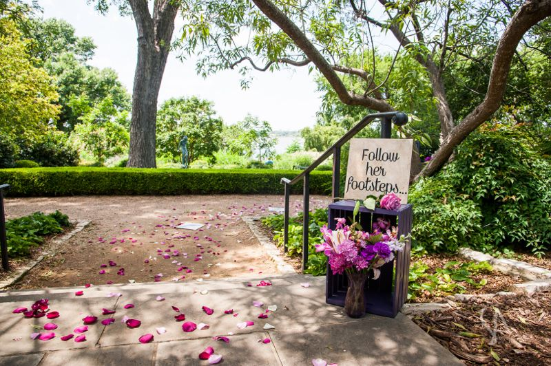 Dallas family centered marriage proposal by the yes girls for Garden design proposal