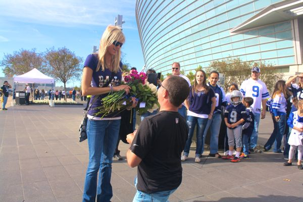 Dallas stadium proposal by the yes girls