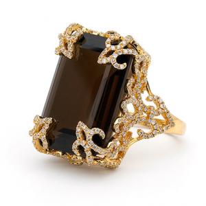 Katie Decker Quartz Ring