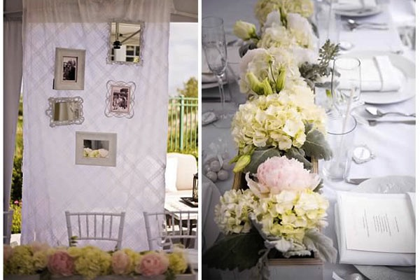 classy bridal shower decor
