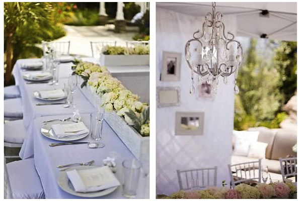 All White Bridal Shower By The Yes Girls Events The Yes