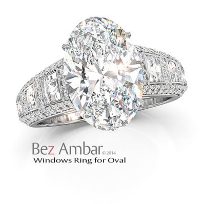 Ambar Oval Ring