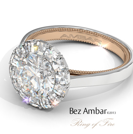 Ambar Two Tone Ring