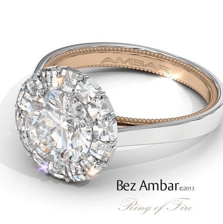 Ambar Two Tone Ring