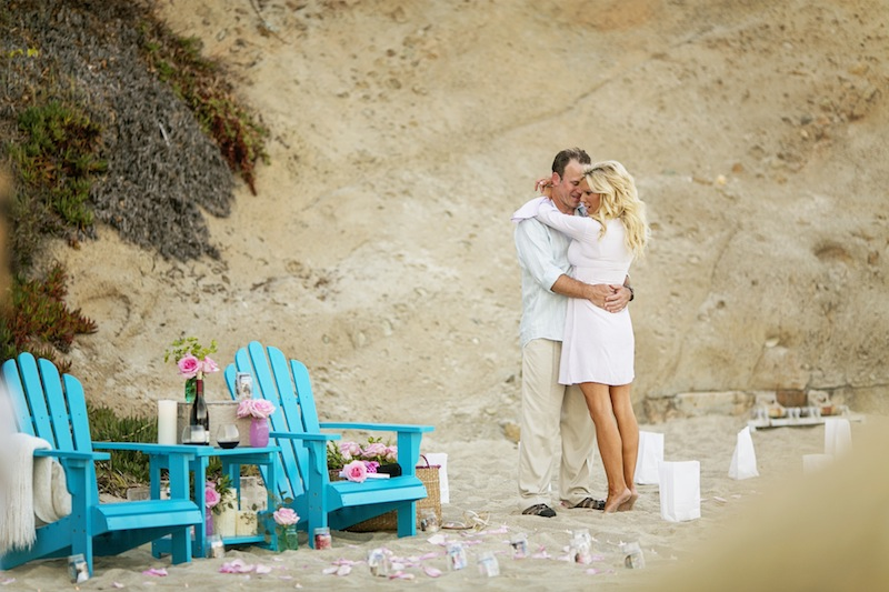 social perfect beach marriage proposal
