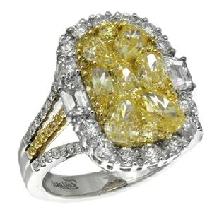 Gregg Ruth Yellow Diamond Ring