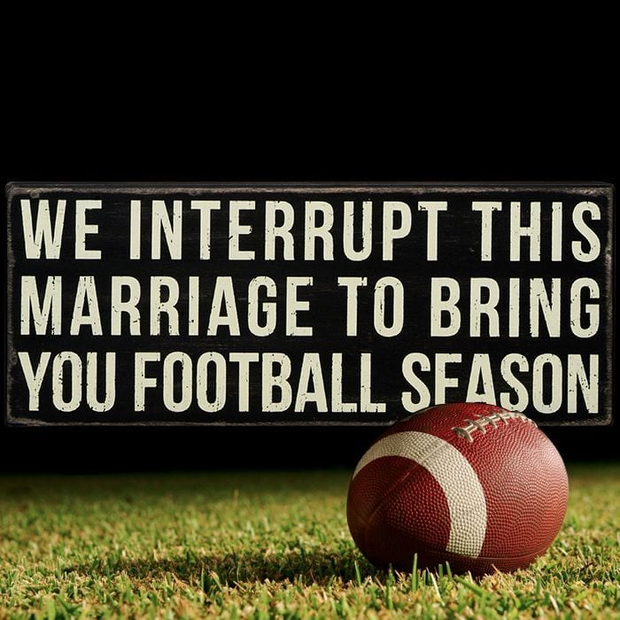 how to romance your woman during football season