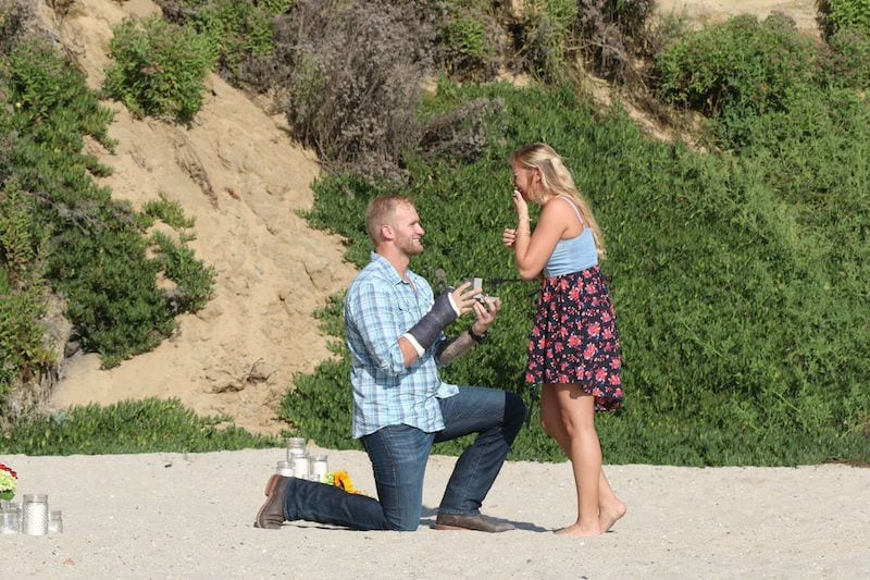 NFL Player amazing marriage proposal by The Yes Girls