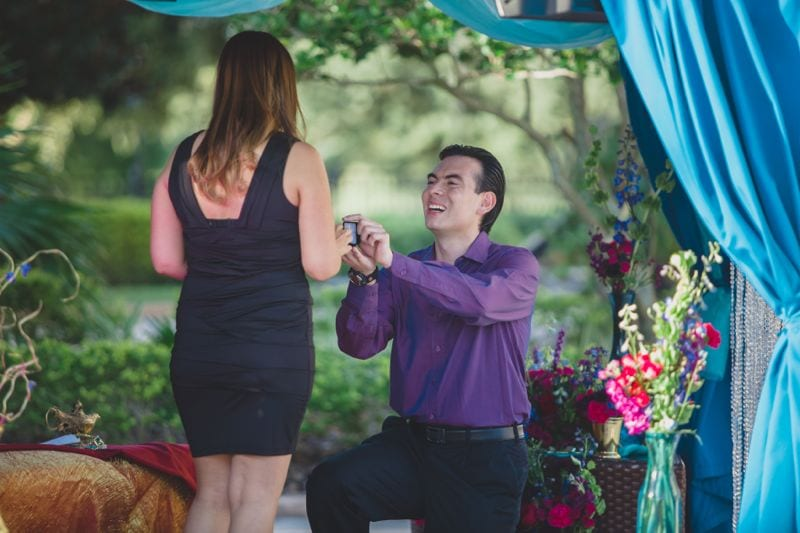 Marriage Proposal at The Ritz Carlton Grande Lakes, Orlando, Florida