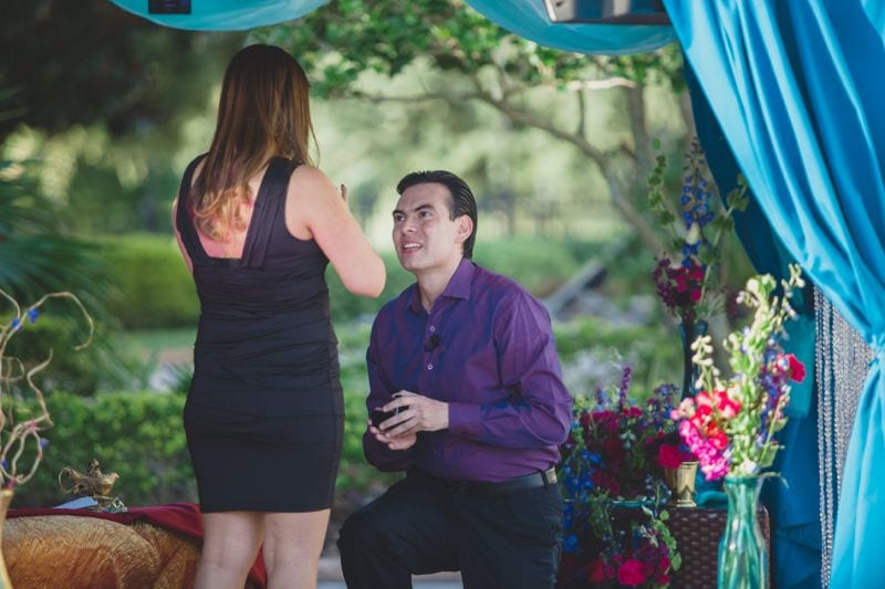 Marriage Proposal at The Ritz Carlton Grande Lakes