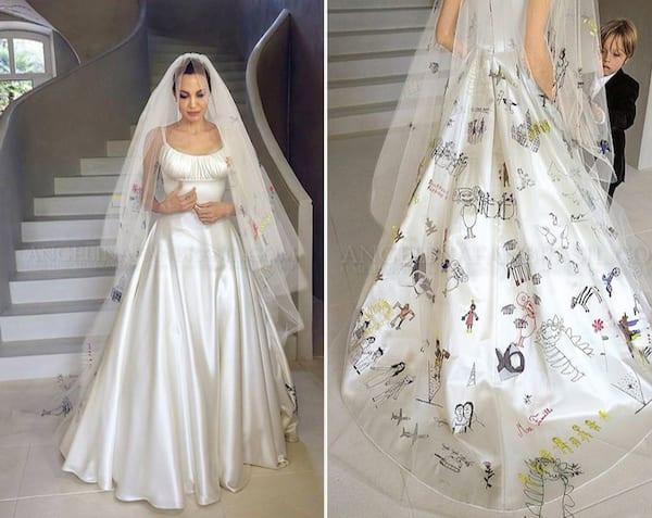 Angelina Jolie and Brad Pitt's Wedding | | The Yes Girls