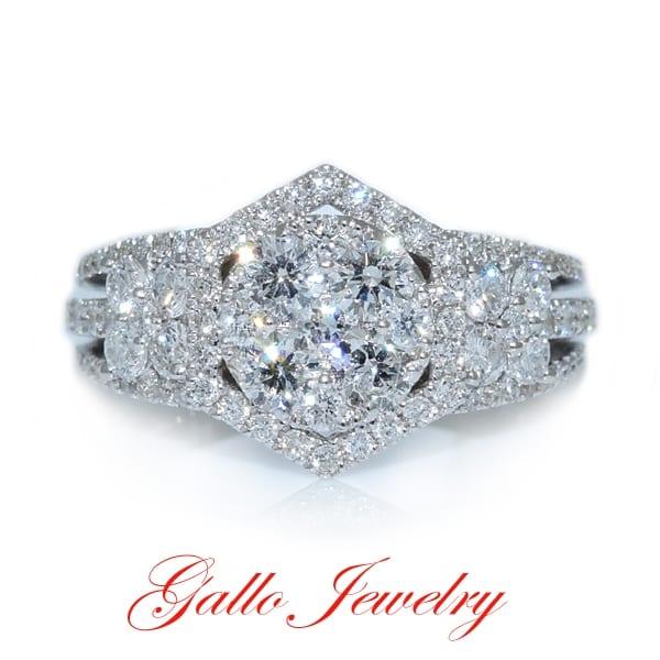 Gallo Jewelry Fancy Diamond Ring
