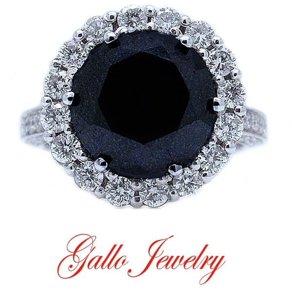 Gallo Jewlery Black Stone Ring
