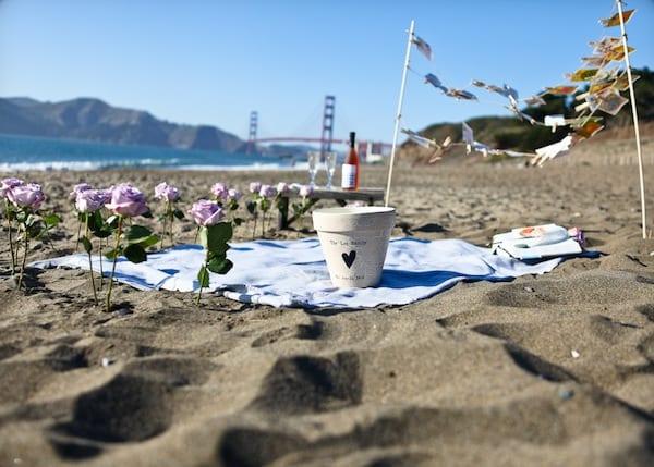 unique beach proposals