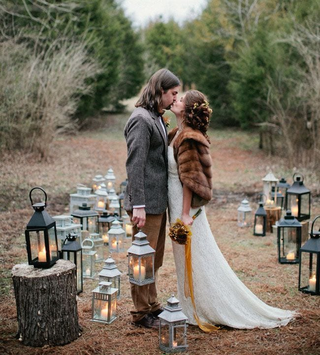 Fall Vintage Wedding Ideas: Ideas For Fall Engagement Photos