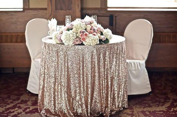 wedding sweetheart tables