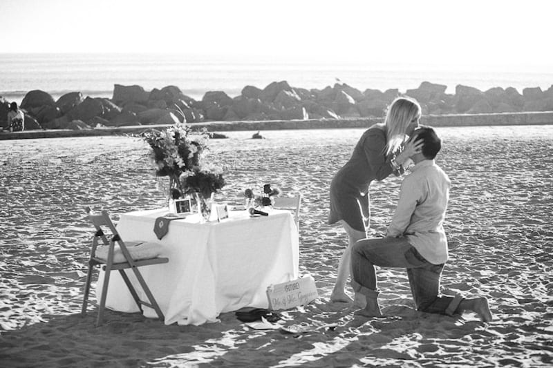 RN marriage proposal hotel del coronado by the yes girls