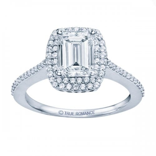 True Romance Emerald Cut