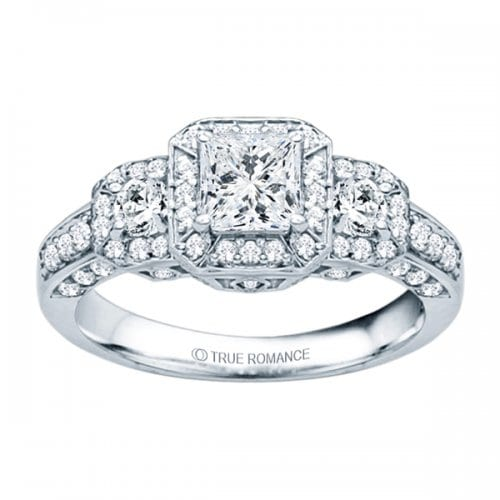 True Romance Princess Cut Vintage