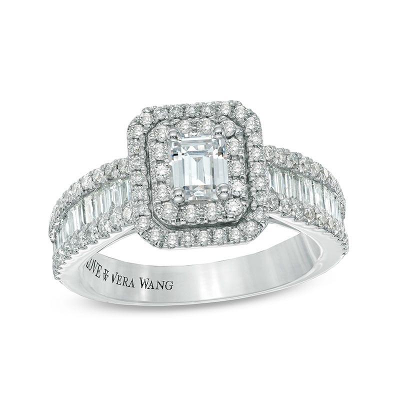 Vera Wang Emerald Ring