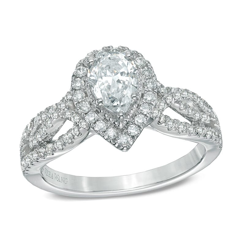 Vera Wang Pear Weave Ring