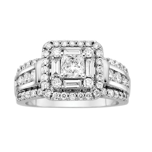 Littman Jewelers Princess Cut Engagement Ring