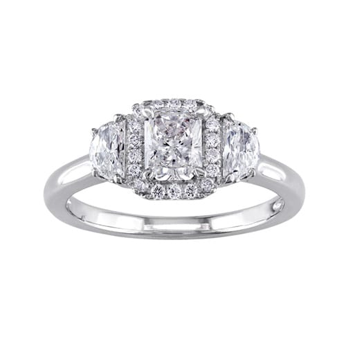 Littman Jewelers Radiant Shape Engagement Ring