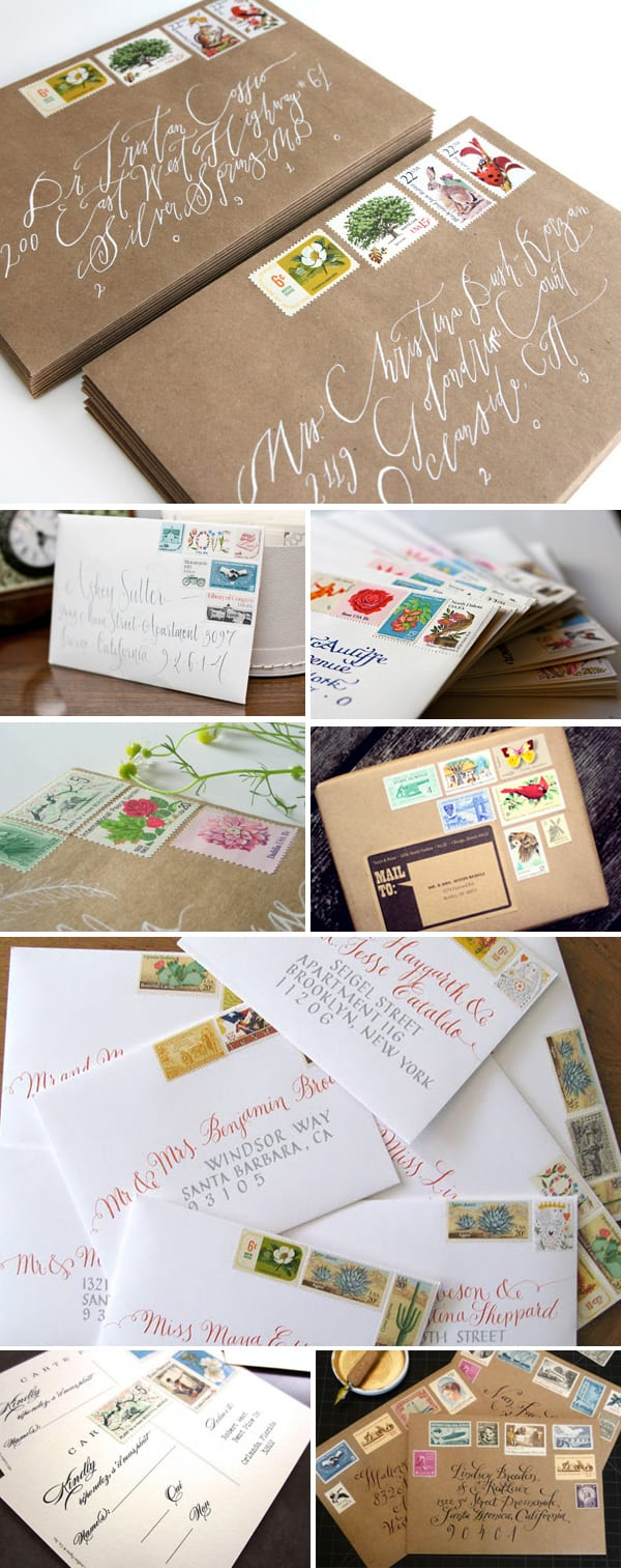 wedding invitations postage - wedding invitation ideas, Wedding invitations