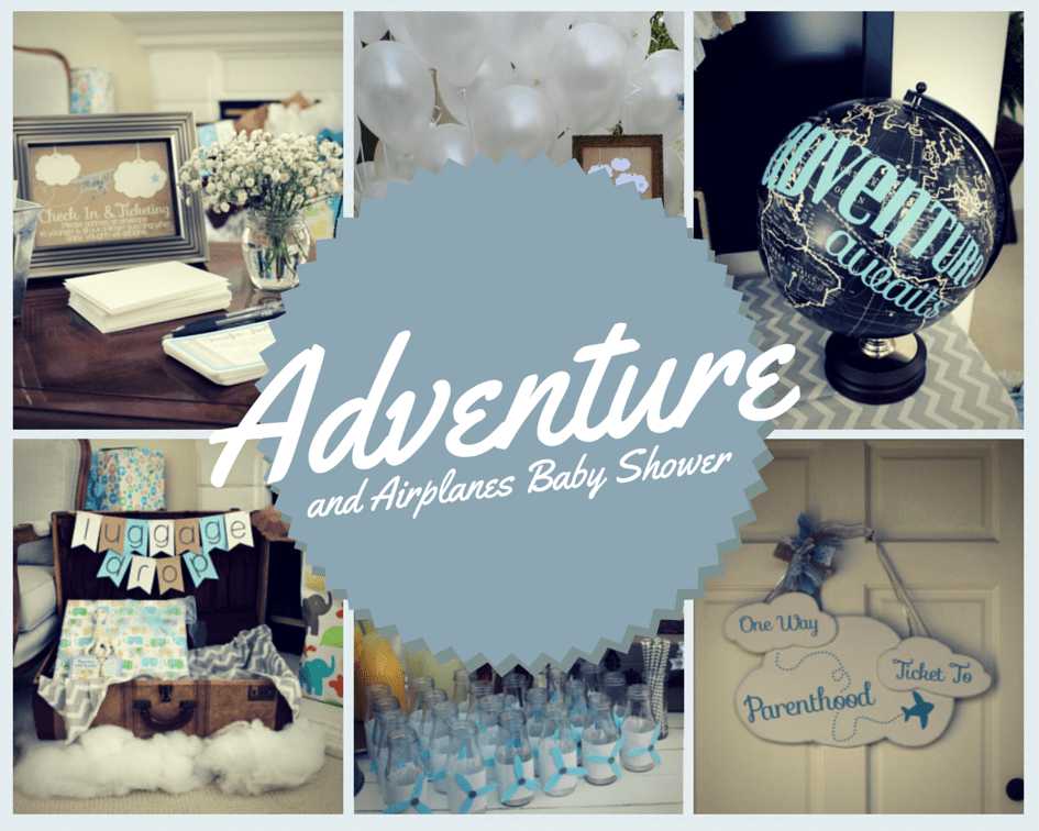 Adventure Airplanes baby shower by the yes girls 1