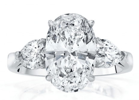 Alberts Oval Engagement Ring
